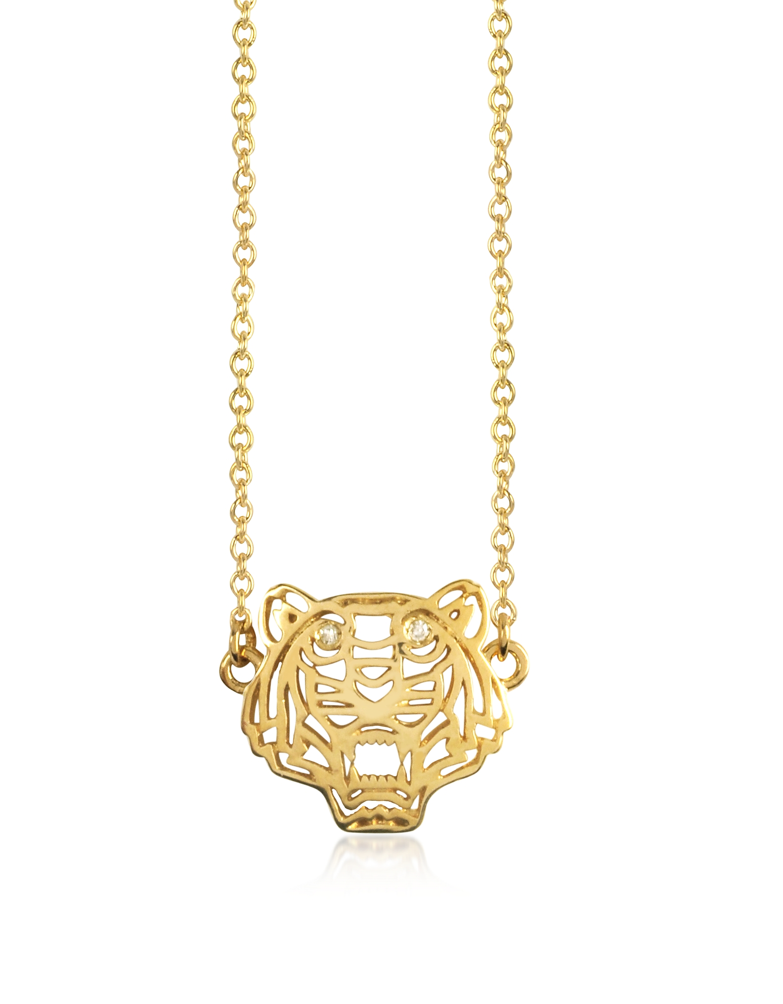 Kenzo Necklaces, Mini Tiger Necklace