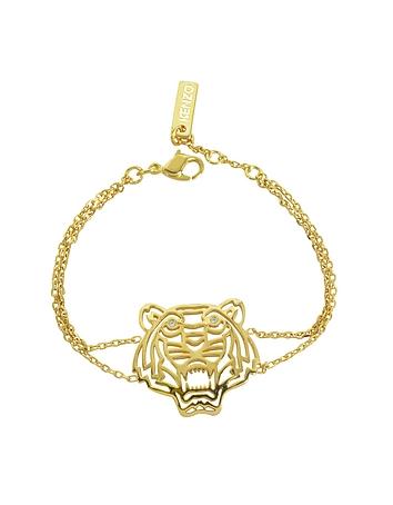 Kenzo - Gold Plated Tiger Bracelet