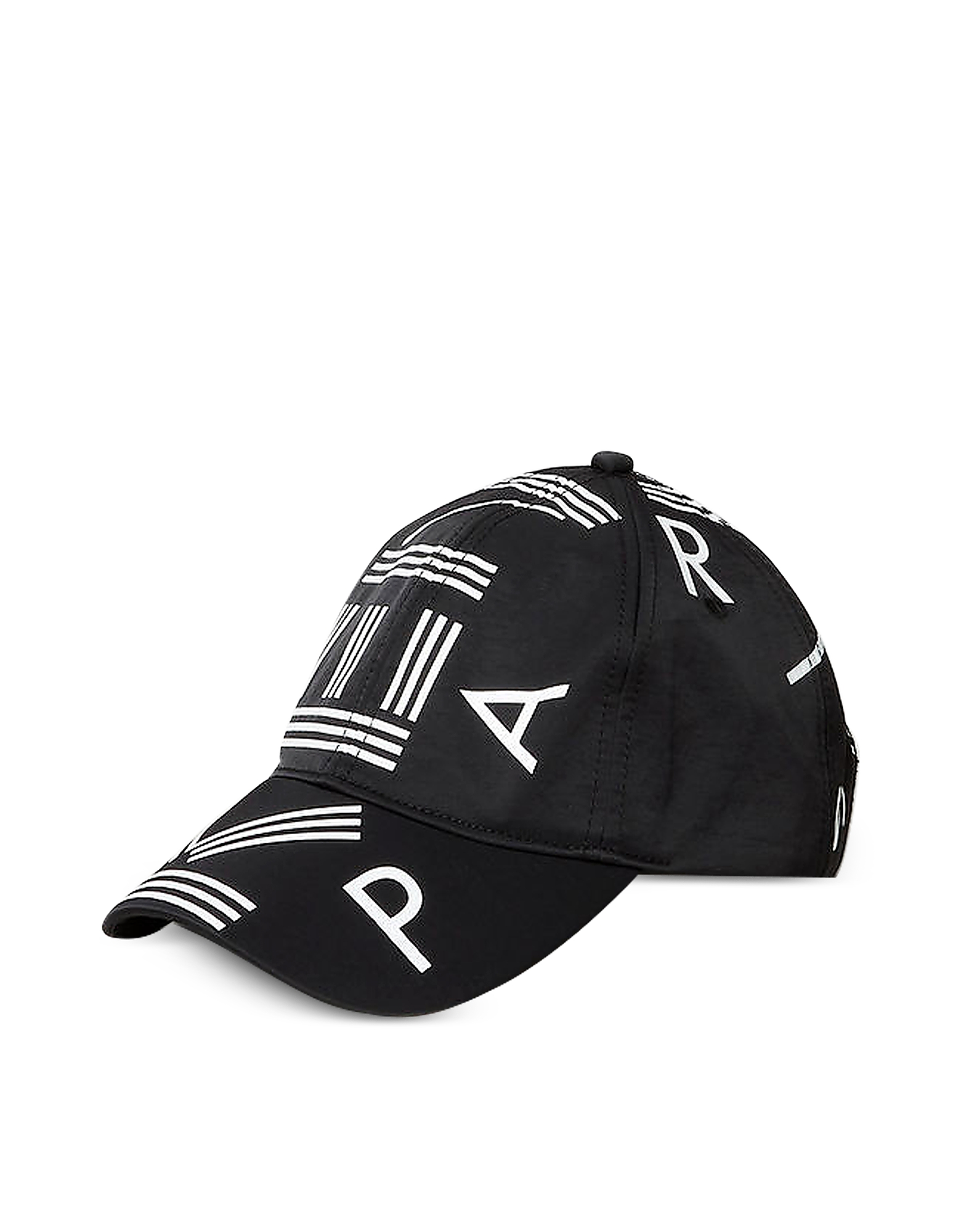 Kenzo Men's Hats, Black Nylon Kenzo Logo Sport Baseball Cap