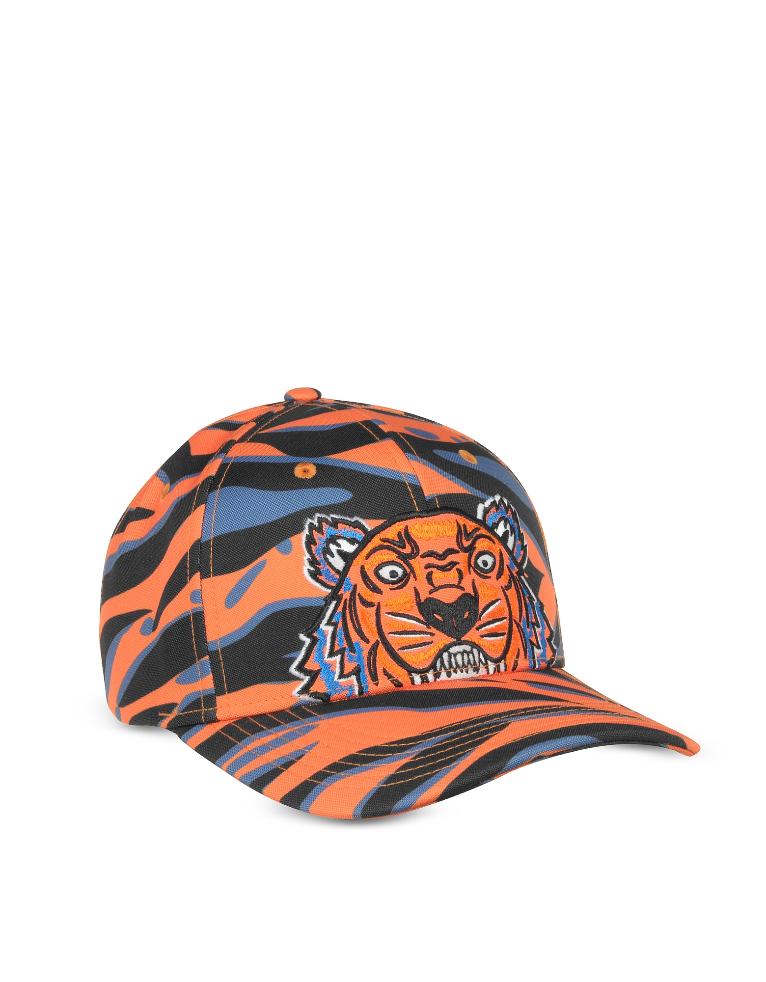 Kenzo Tiger Orange Cotton Hat