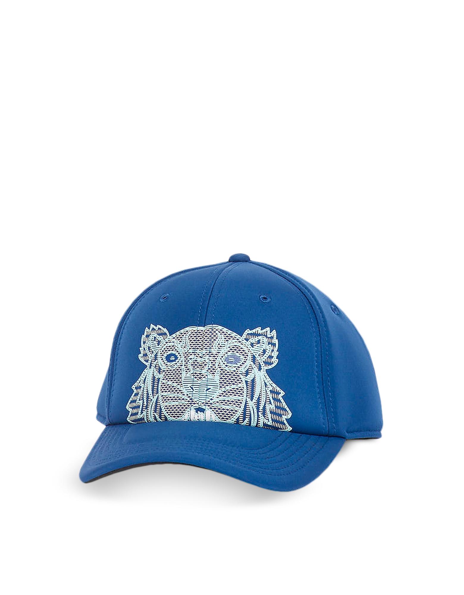 Kampus Neoprene Tiger Baseball Cap, Blue
