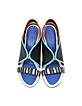 Color Block Leather w/Neoprene Sandal - Kenzo