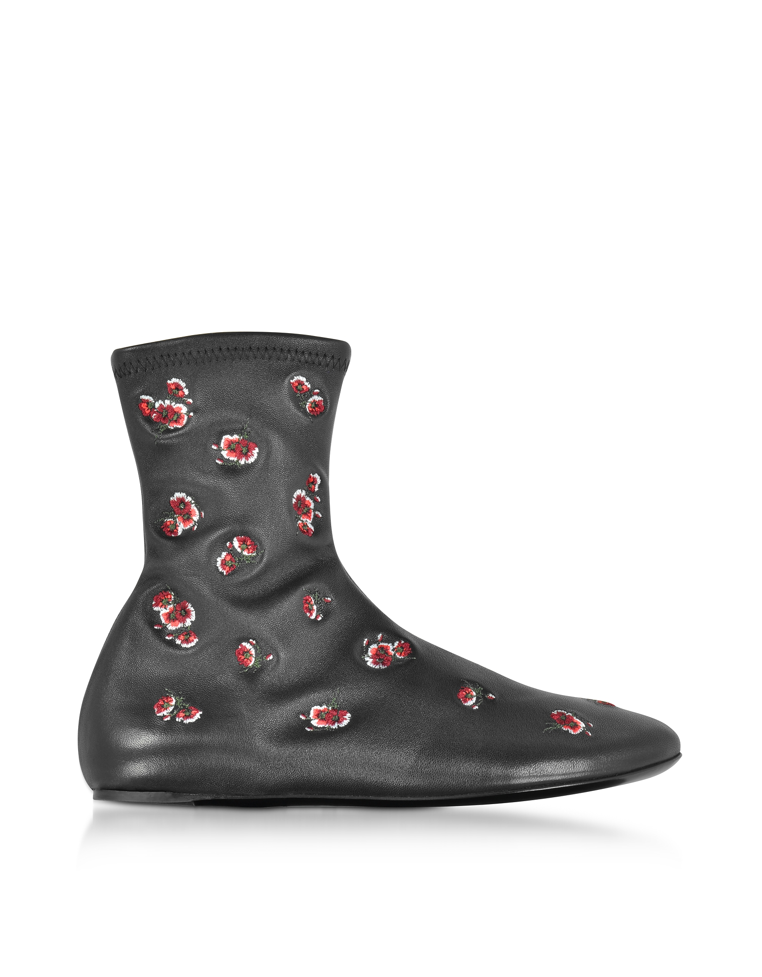 Kenzo Black May Flowers Boots