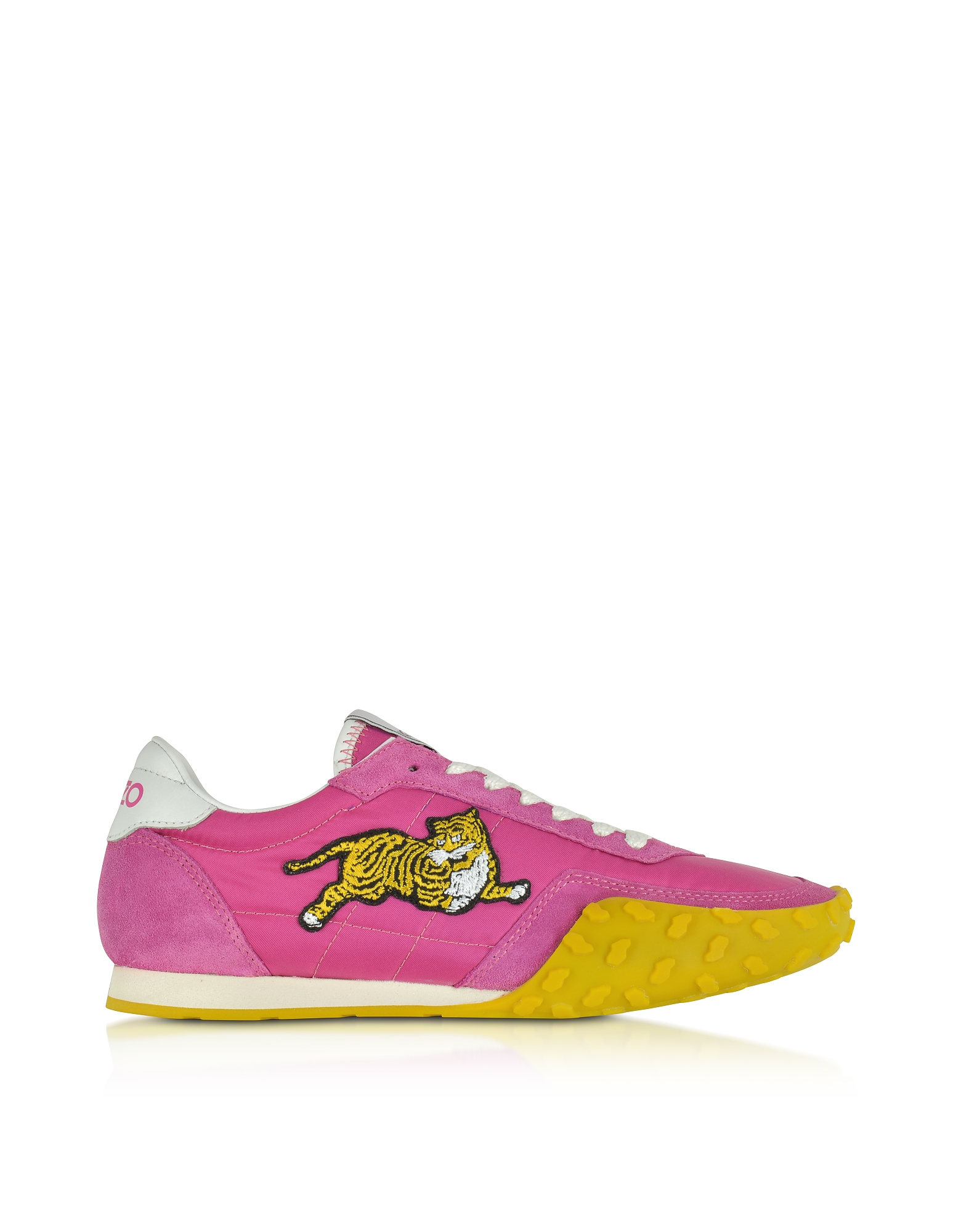 Kenzo Shoes, Move Fuchsia Nylon Memento Sneakers