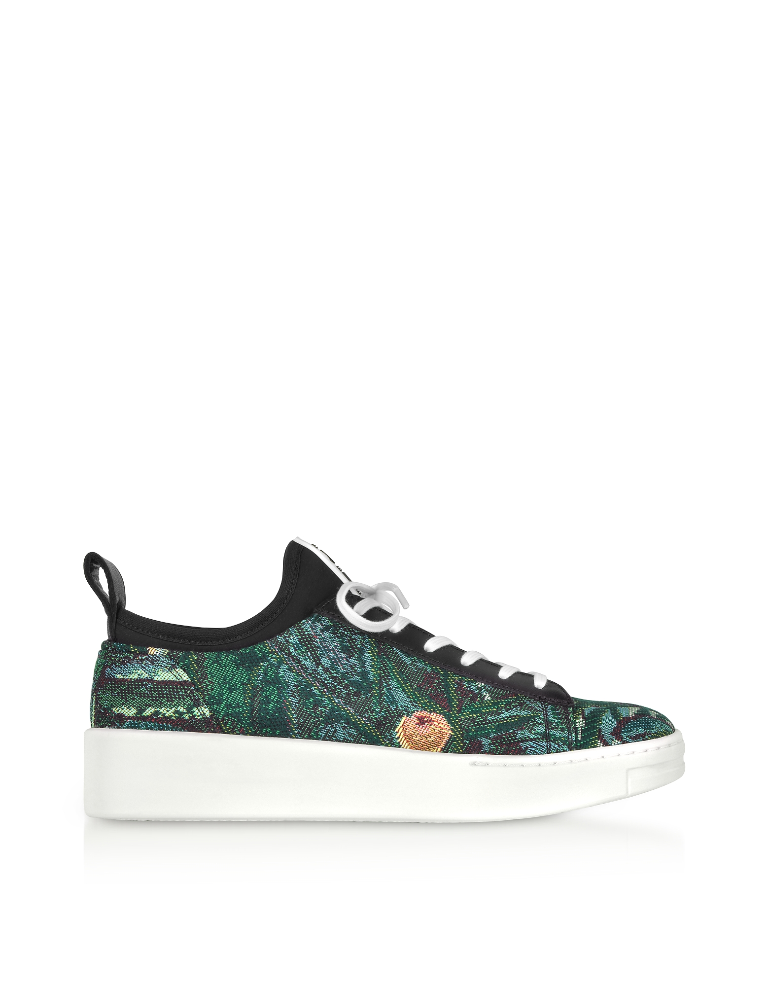 Kenzo Shoes, Tapestry Jacquard K-City Sneakers