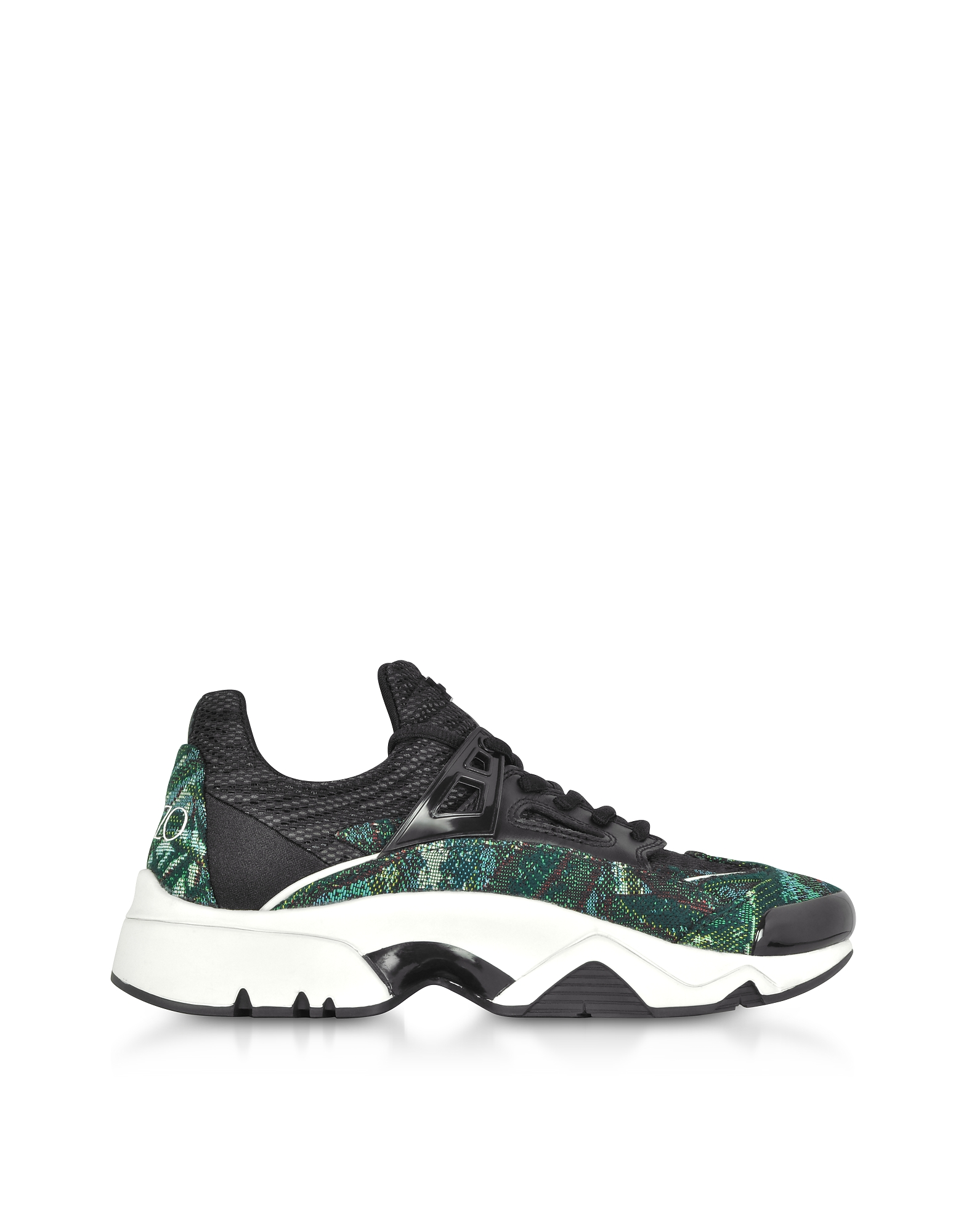 Kenzo Shoes, Tapestry Jacquard Sonic Sneakers