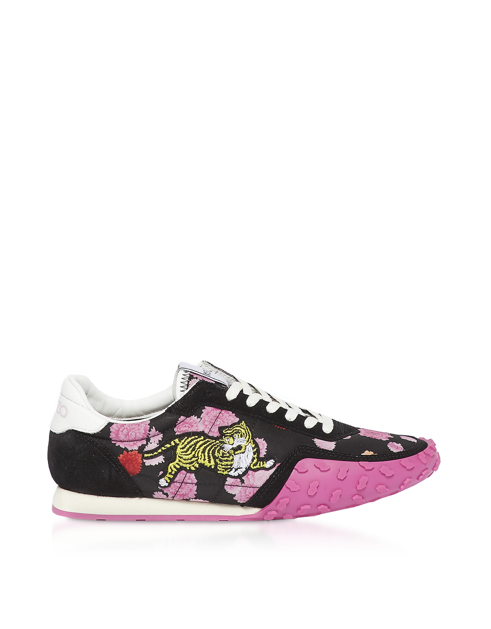 Black and Fuchsia Kenzo Move Women's Sneakers