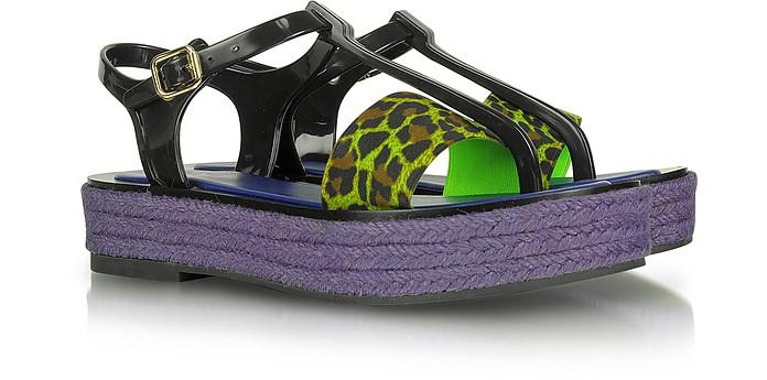 Electric Jungle Flatform Sandal - Kenzo