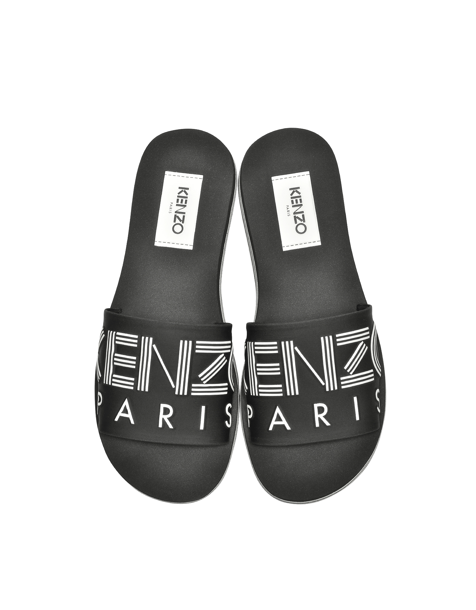 Black Neoprene Men's Sandals