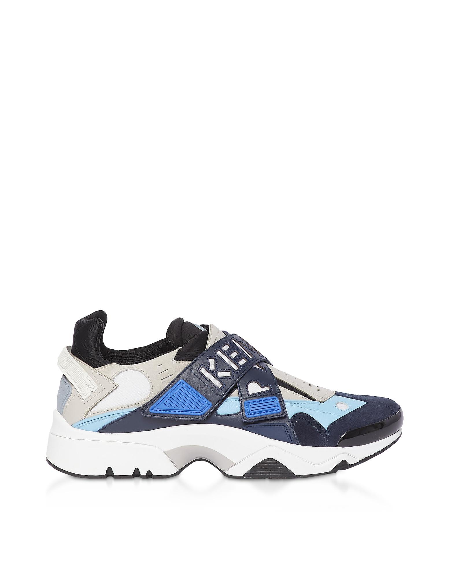 Cobalt Blue Sonic Low Top Men's Sneakers