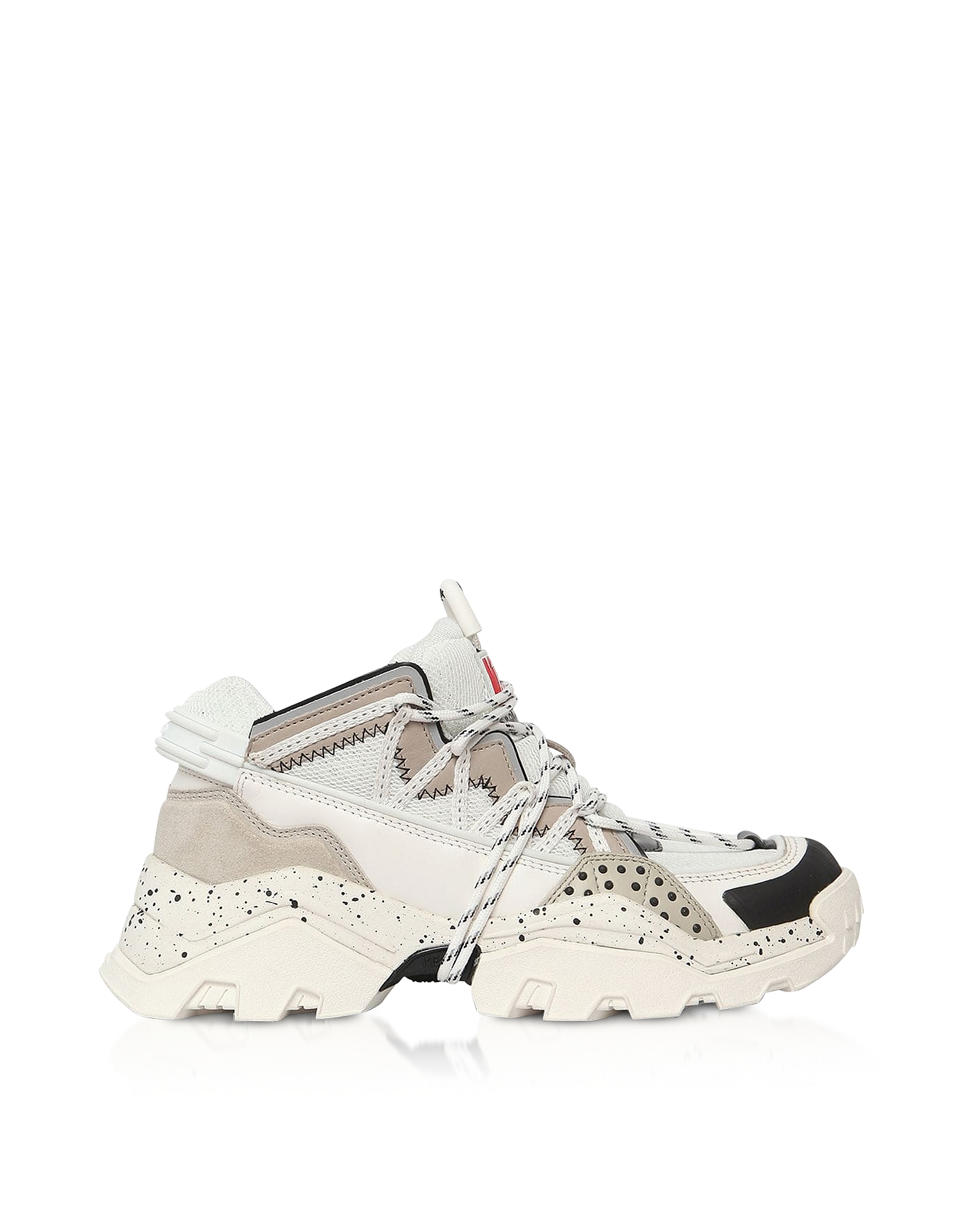 Gray Mid-Top Men's Sneakers
