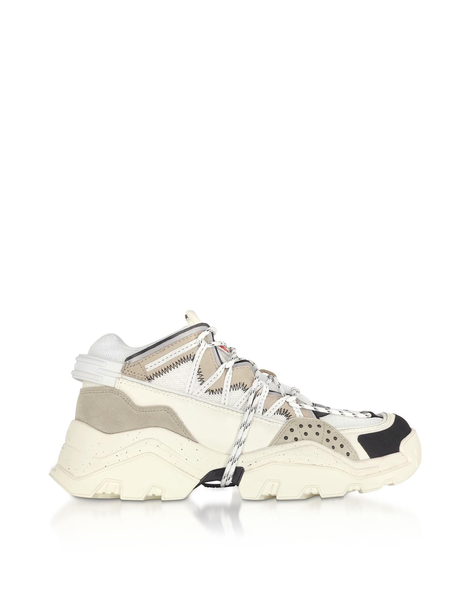 Gray Inka Mid-Top Men's Sneakers