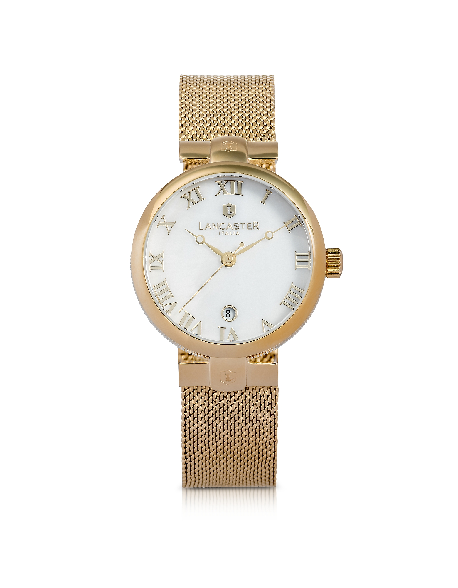 Lancaster Women's Watches, Chimaera Yellow Gold Stainless Steel Watch