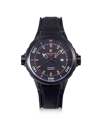 Space Shuttle Automatic Stainless Steel and Silicon Men's Watch