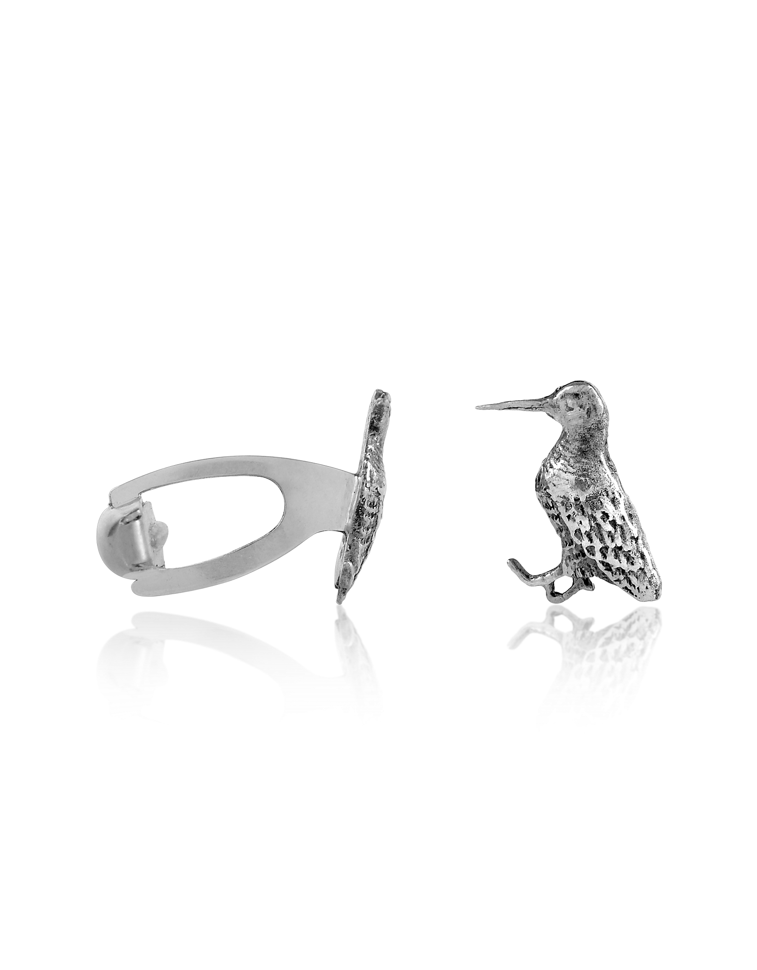 Forzieri Exclusives Cufflinks, Sterling Silver Woocock Cufflinks