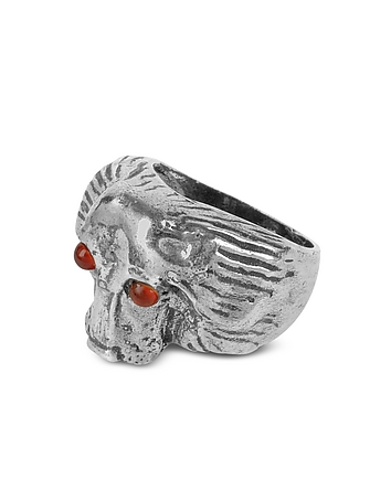 Forzieri Exclusives - Vintage Setter Sterling Silver Ring