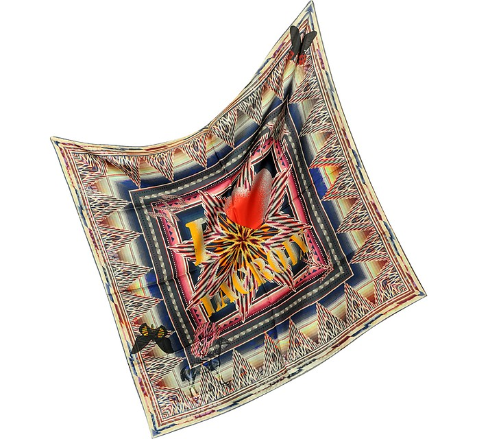Mexican - Silk Square Scarf - Christian Lacroix