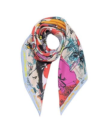Christian Lacroix - 20 Ans Pure Silk Women's Square Scarf