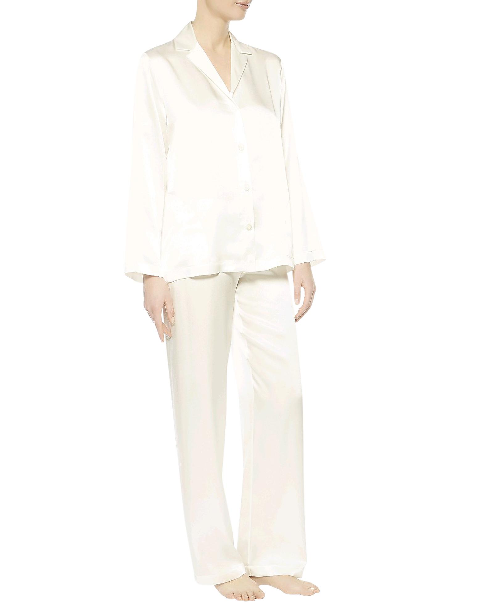 Iconic Natural Silk Pajamas