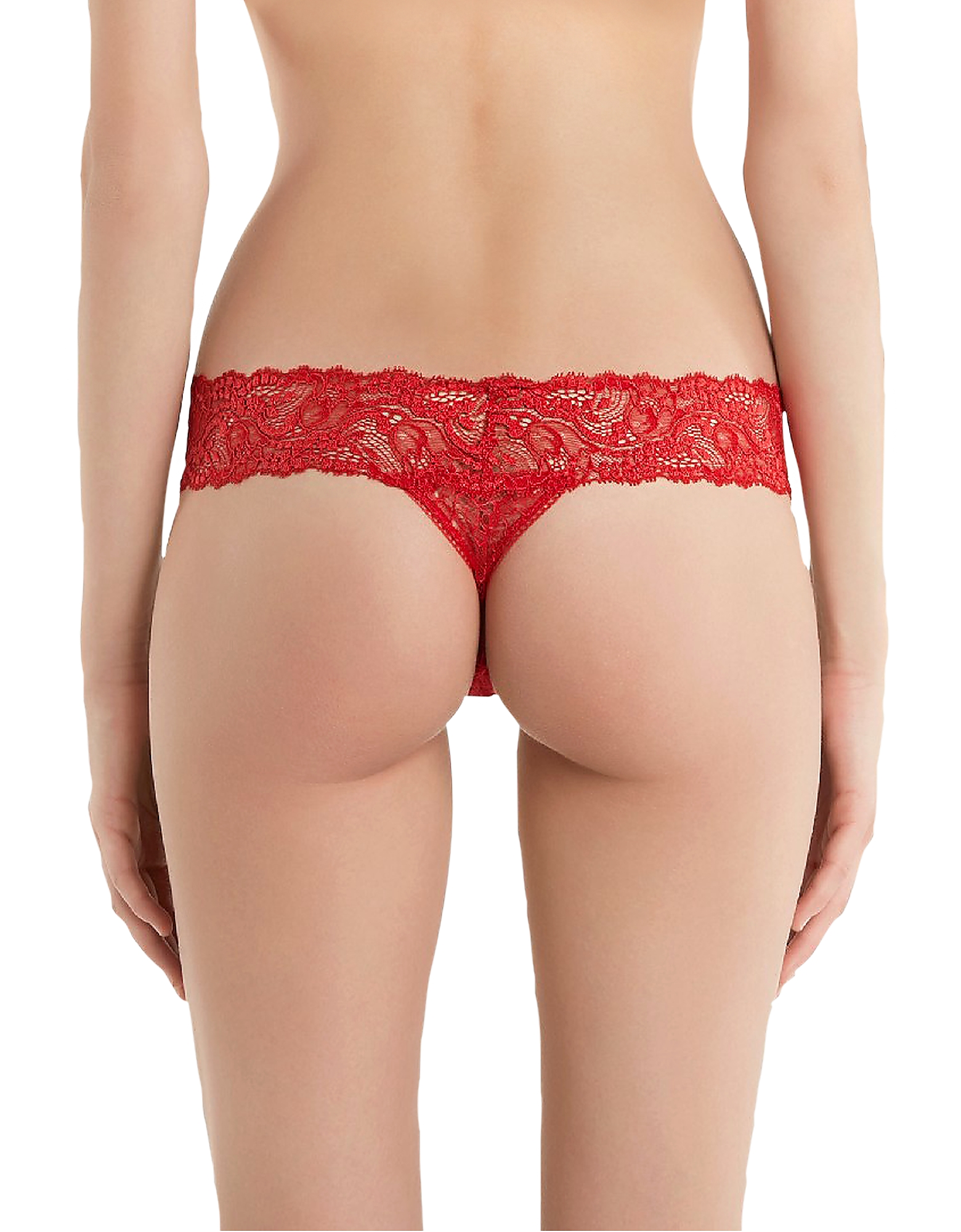 Freedom Stretch Leavers Lace Thong от Forzieri.com INT