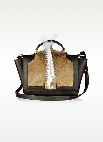 Gazelle Crest Leather iPad Bag - Leonardo Delfuoco
