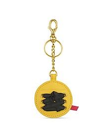 Gaia - Round Signature Key Ring - Leonardo Delfuoco