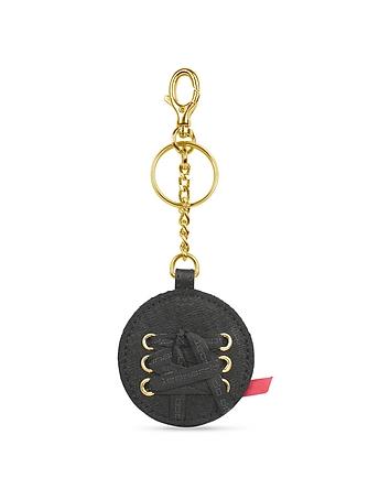 Leonardo Delfuoco - Gaia - Round Signature Key Ring