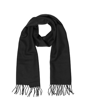 Lanvin - Solid Wool Fringed Men's Scarf