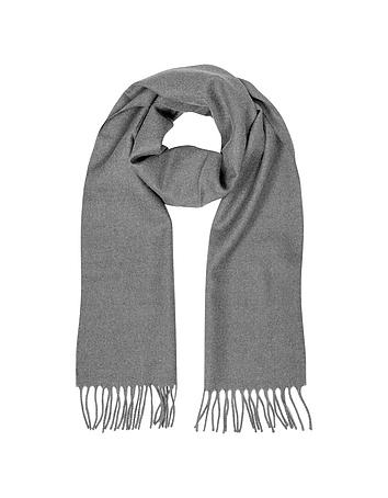 Lanvin - Solid Wool Fringed Men's Scarf