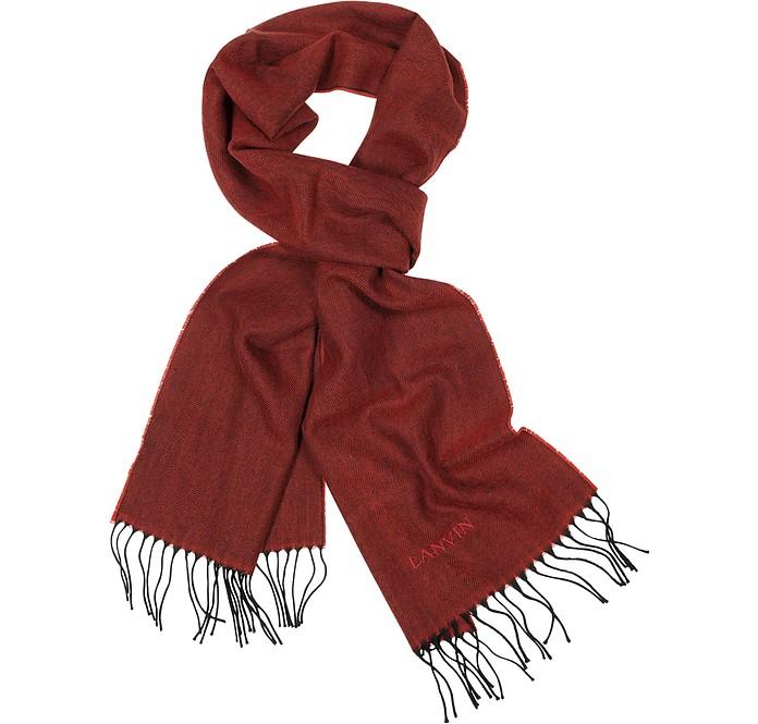 Woven Virgin Wool Scarf - Lanvin