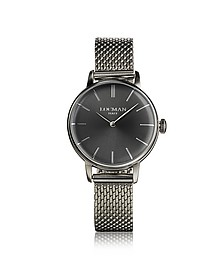 1960 Silver Stainless Steel Women's Watch - Locman