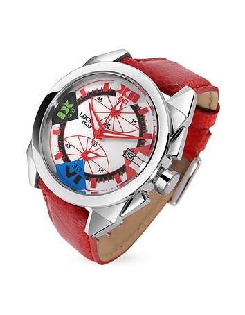 Crazy Horse Red Women's Chronograph Watch lo27476-003-00