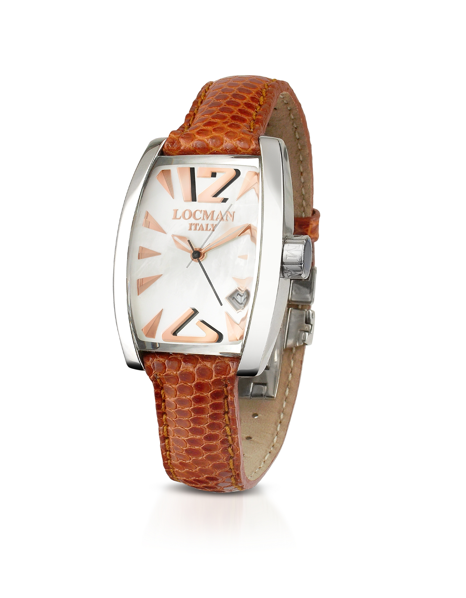 Locman Women's Watches, Panorama Mother-of-Pearl Dial Dress Watch