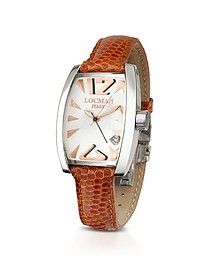Panorama Mother-of-Pearl Dial Dress Watch - Locman