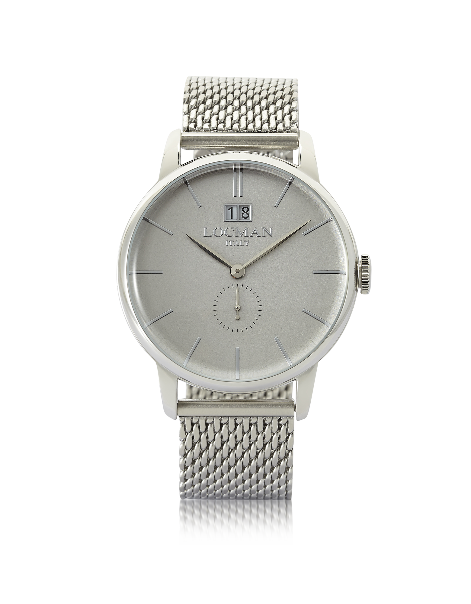 Image of 1960 Silver Stainless Steel Men's Watch