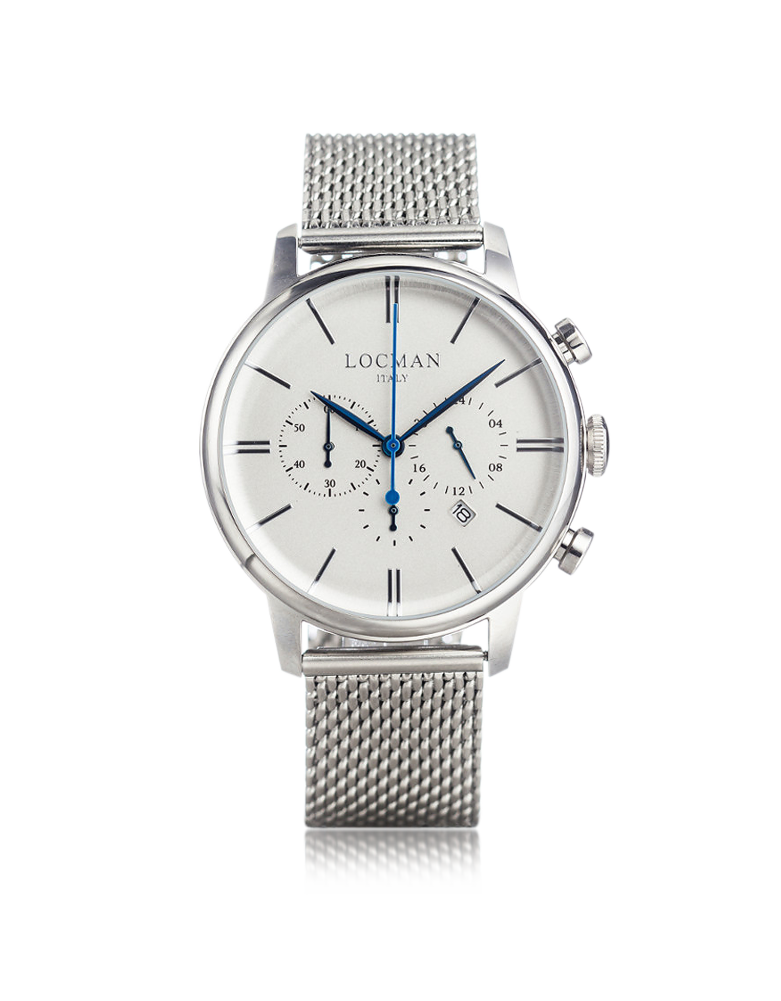 Image of 1960 Silver Stainless Steel Men's Chronograph Watch