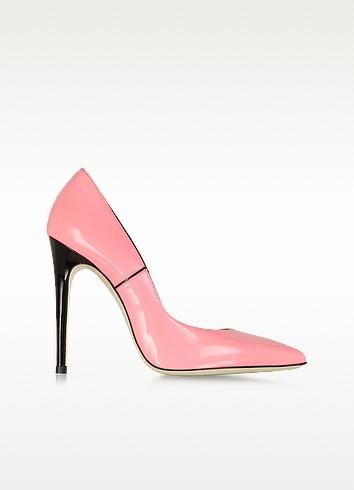 Pink Patent Leather Pump - Loriblu