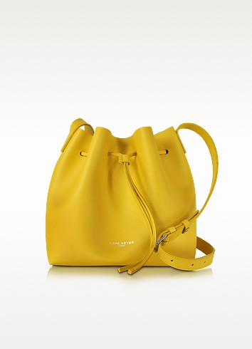 Pur & Element Saffiano Leather Bucket Bag - Lancaster Paris