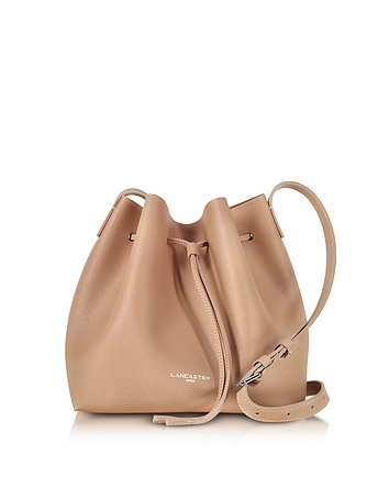 Lancaster Paris - Pur & Element Saffiano Calf-Leather Bucket Bag