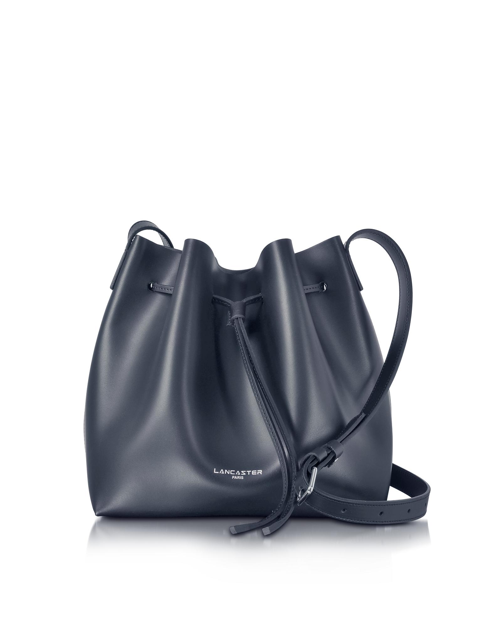 Lancaster Paris Handbags, Pur Smooth Leather Bucket Bag