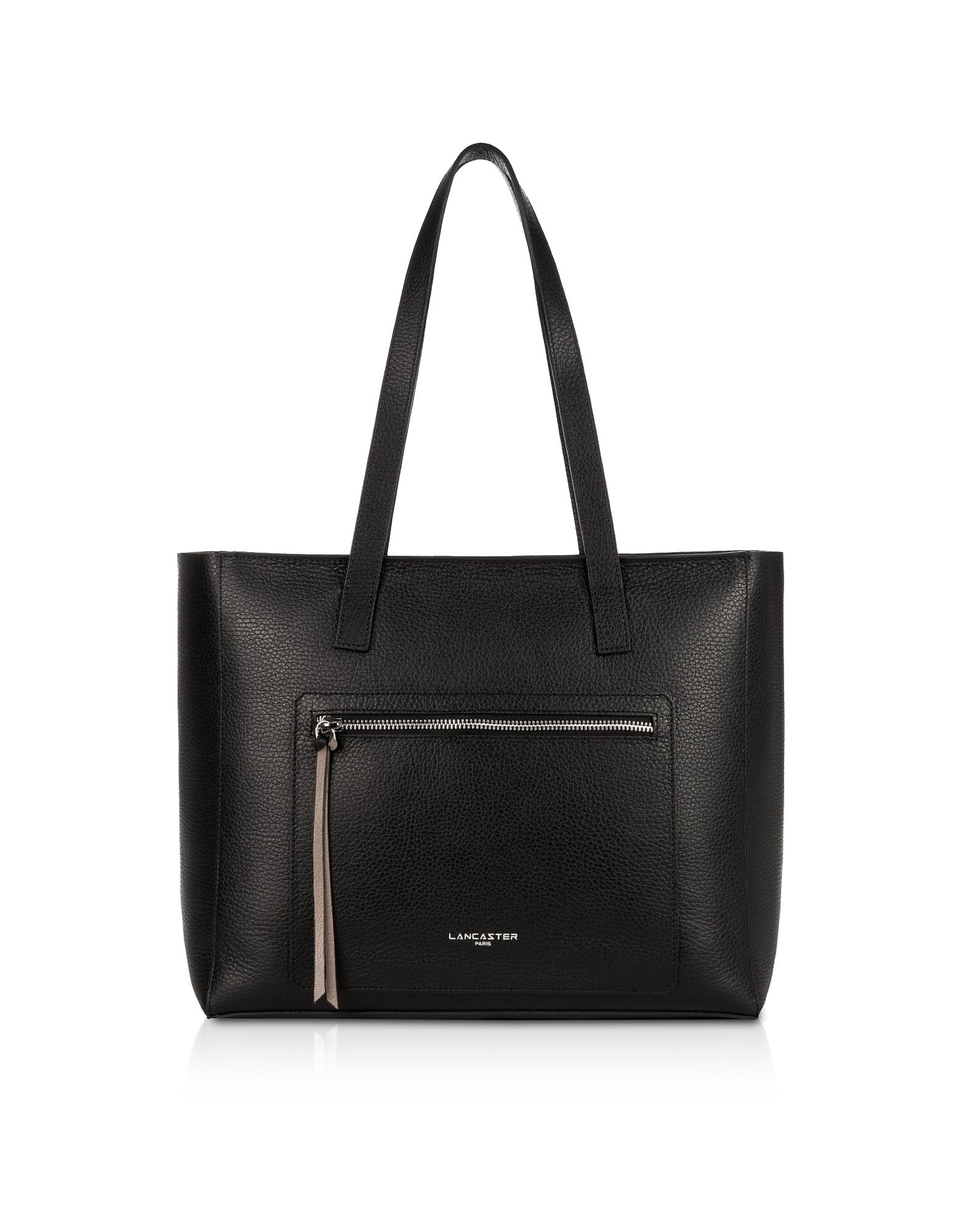 Lancaster Paris Designer Handbags, Foulonne Double Leather Tote Bag