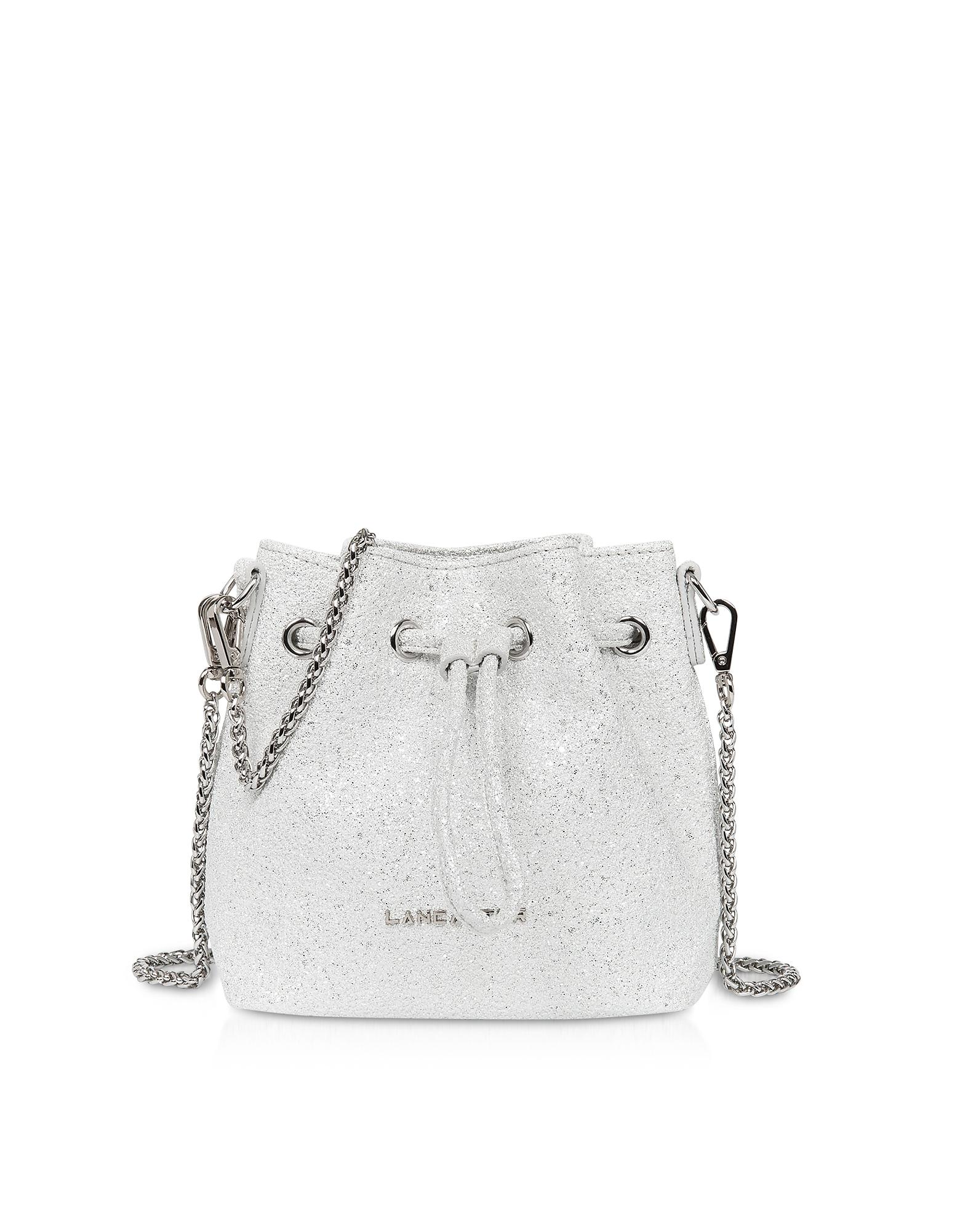 Actual Shiny Mini Bucket Bag