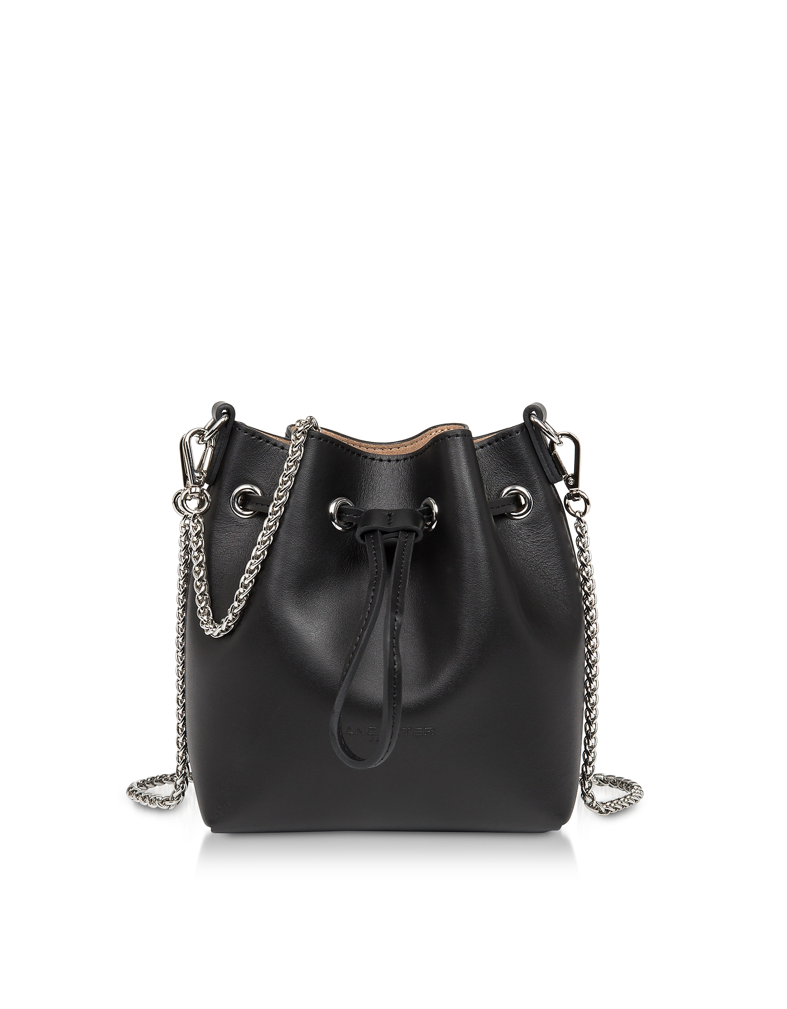 Treasure and Annae Leather Mini Bucket Bag