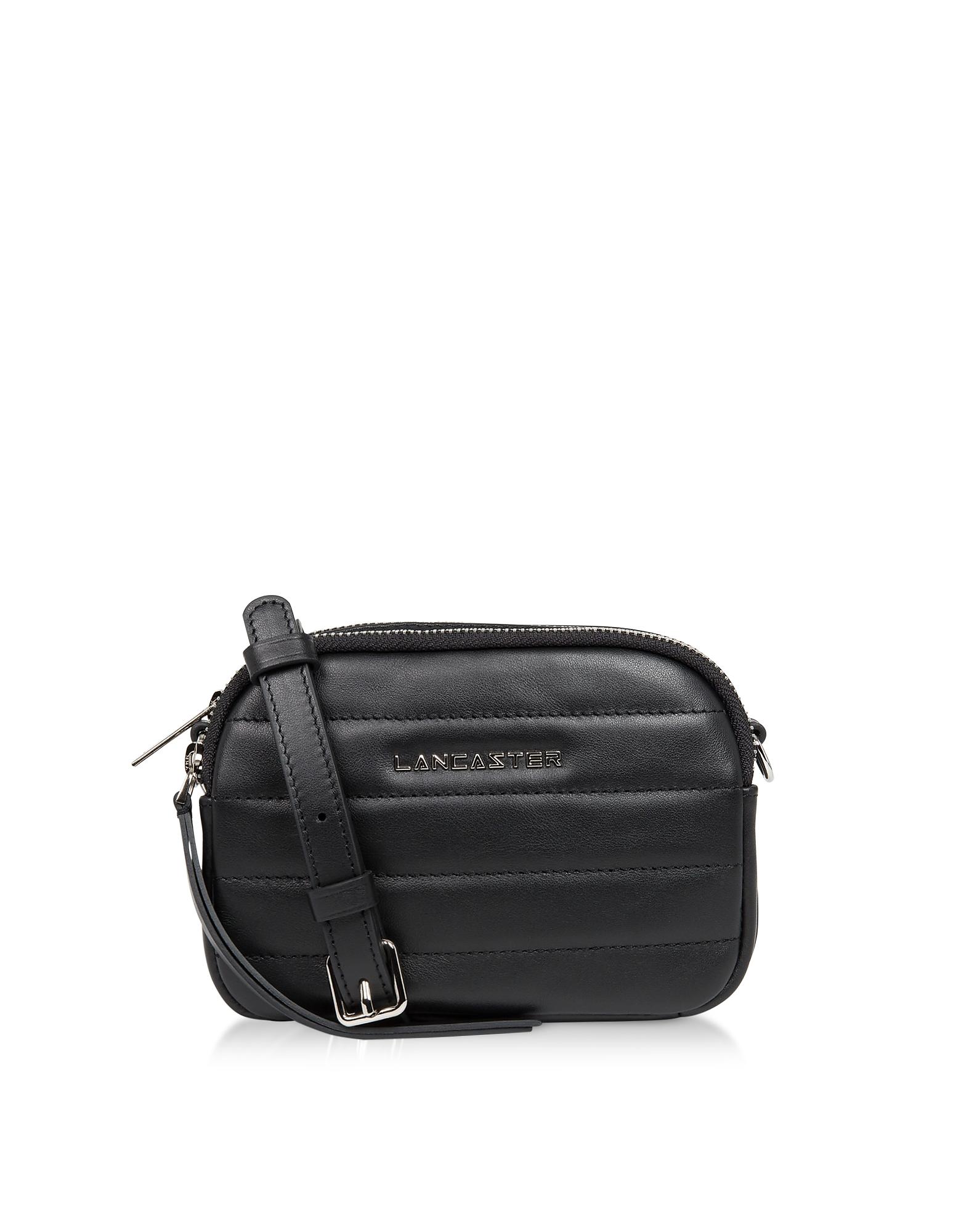 Lancaster Paris Designer Handbags, Parisienne Couture Mini Crossbody Bag