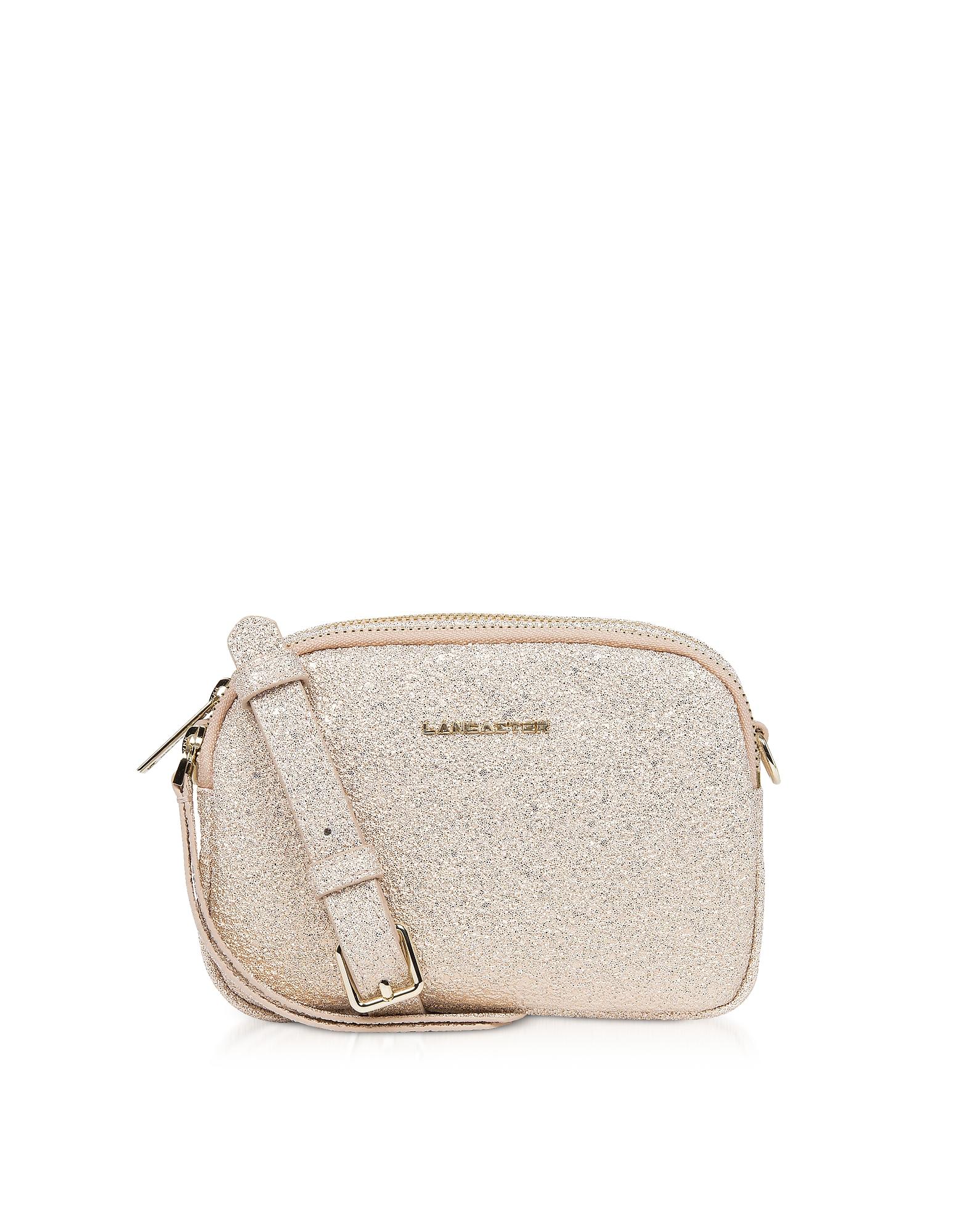 Lancaster Paris Handbags, Actual Shiny Mini Crossbody Bag