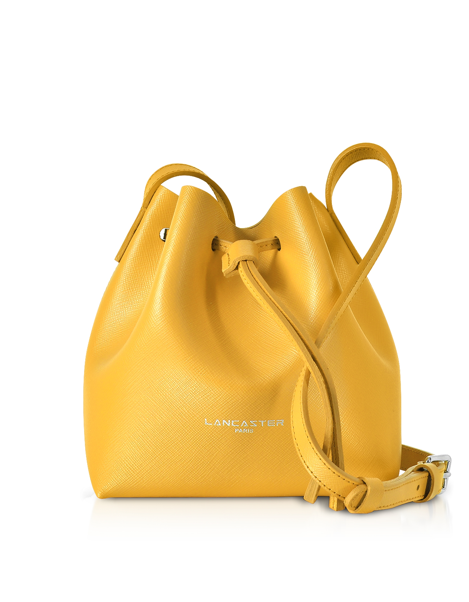 Lancaster Paris Handbags, Pur & Element Saffiano Mini Bucket Bag