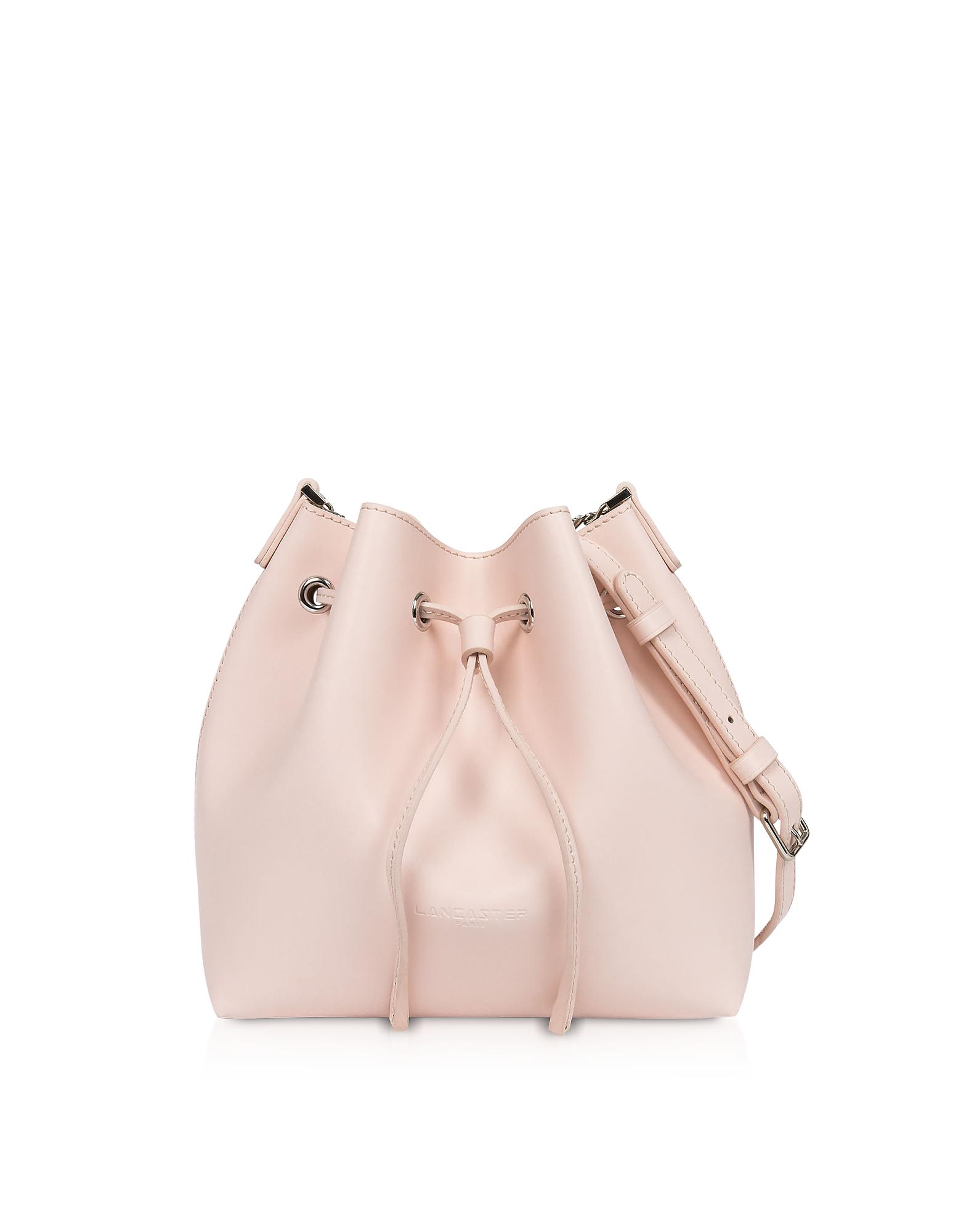 Treasure and Annae Leather Small Bucket Bag