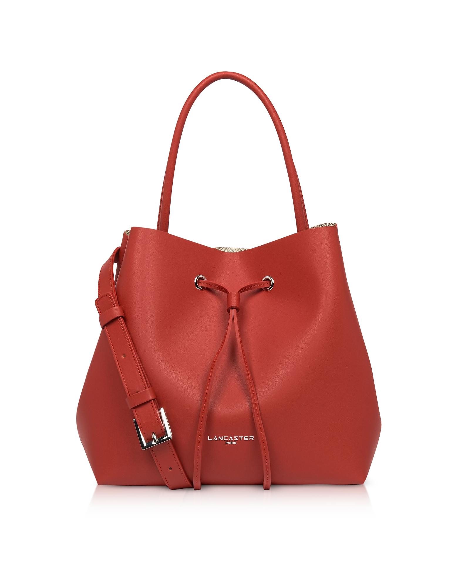 Lancaster Paris Designer Handbags, Pur & Element City Bucket Bag