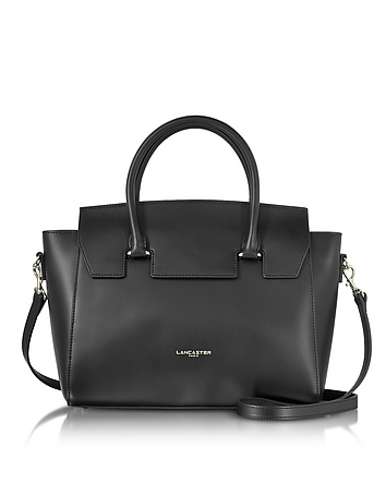 Lancaster Paris - Camelia Leather Tote Bag w/Detachable Shoulder Strap
