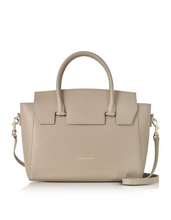 Lancaster Paris - Camelia Leather Tote Bag w/Detachable Shoulder Strap